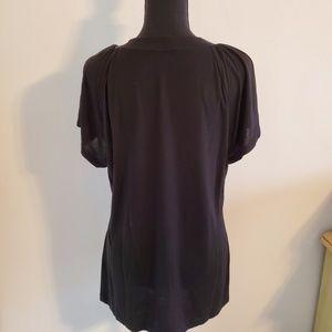 Banana Republic Tops - Banana Republic size XL black tee shirt